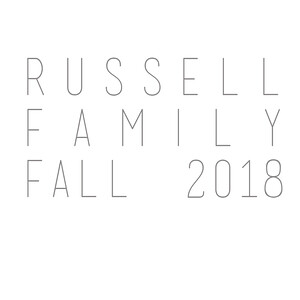 Russell Family Fall 2018