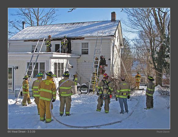 House Fire - 66 West Street - 03.03.09