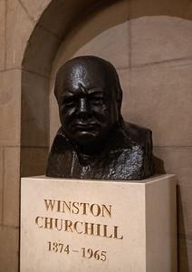 Winston Churchill, US Capitol Building