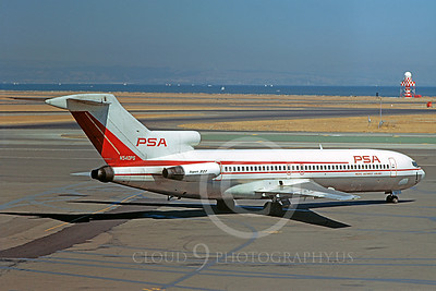 PSA Airline Boeing 727 Airliner PIctures