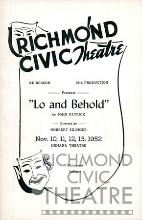 1952-1953 - Lo and Behold