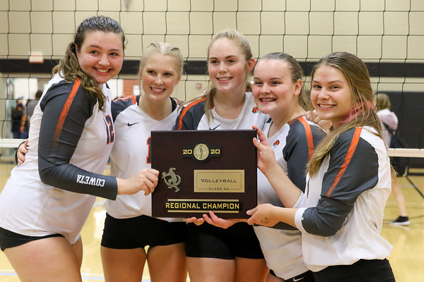 Coweta Tigers Volleyball Regional Champs 2020 #4
