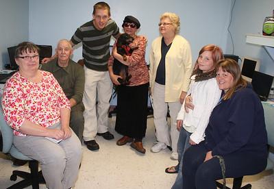 Free Computer Class, Salvation Army, Tamaqua (4-23-2012)