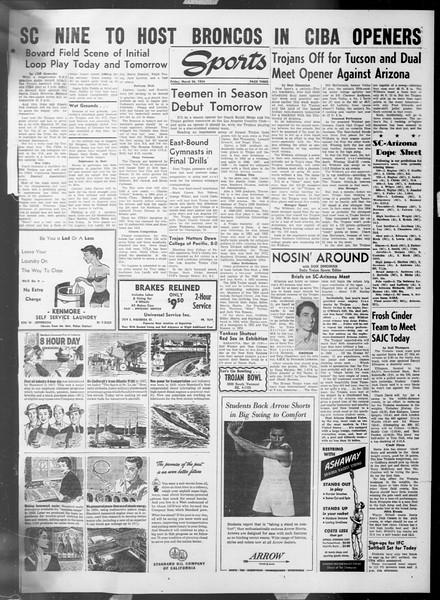Daily Trojan, Vol. 45, No. 102, March 26, 1954