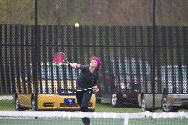Northridge vs. Goshen girls tennis