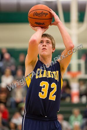 2013 01 04 Clarkston Varsity Basketball vs Lake Orion
