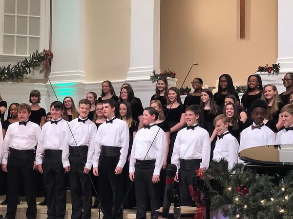 HMS Choir Winter Performance