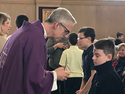 Lent begins with Ash Wednesday service at St. Francis Xavier