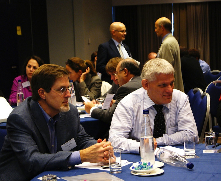 Mr Anders Norsker, ITU and Mr Richard Boly, US State Department