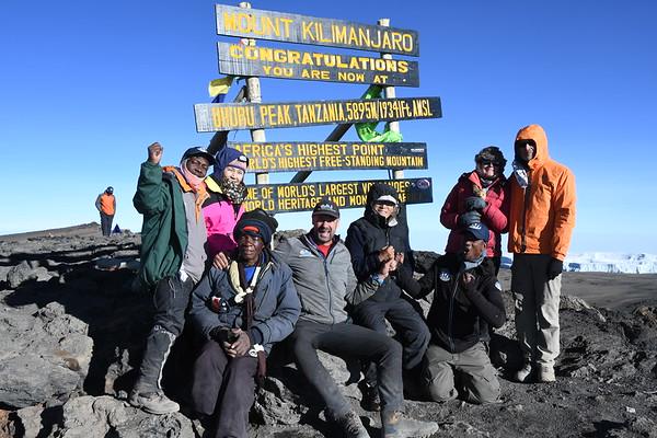 Kilimanjaro October 4-10, 2017