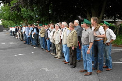 2007 Erste Übung zum Schützenfest