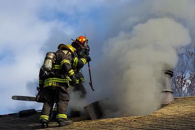 House Fire 175 S Lark (12/24/14)