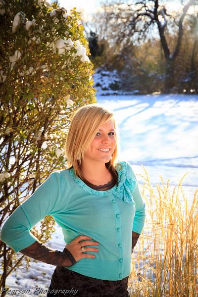 Senior Pictures Taken at the American Fork, Utah Amphitheater
