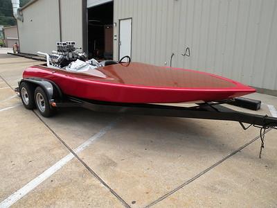 Tony's 1971 Hondo Drag Boat