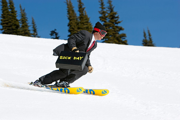 Sick Day Line Skis