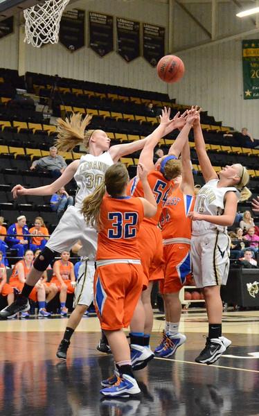 Basketball - LHS Girls 2013-14 - Hillcrest