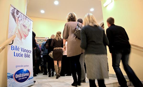 2011-12-21 Bile Vanoce Decin - Lucie Bila