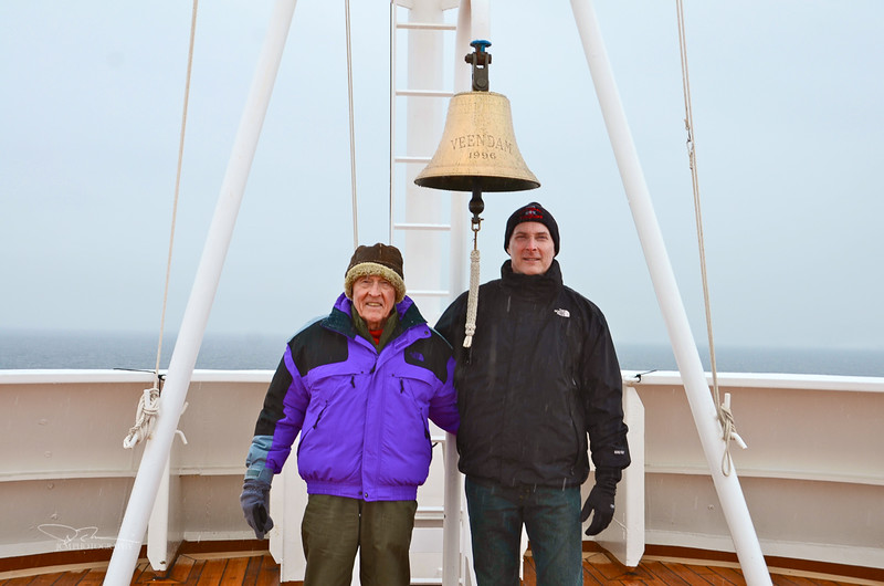 Dad and John Paradise Bay, Antarctica January 1, 2013