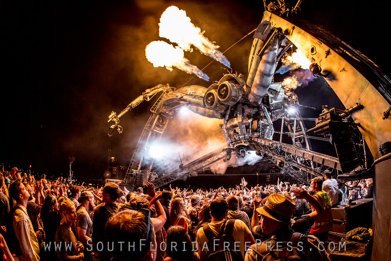 Arcadia Spider at Ultra Music Festival - Resistance Stage