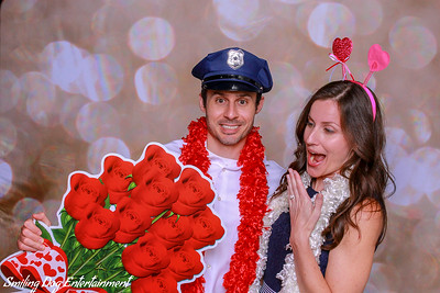 Steph and Kyle Wedding Reception Photo Booth Images