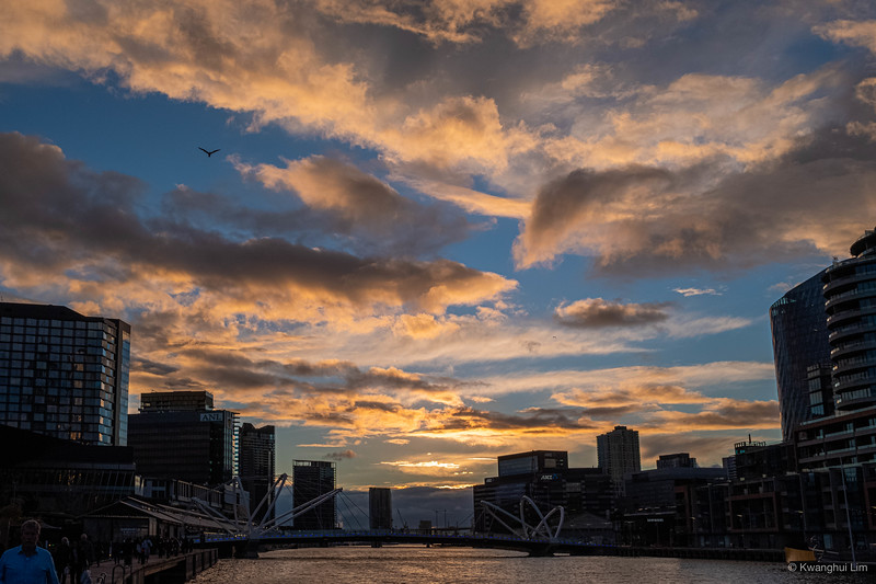 Sunset, Southbank