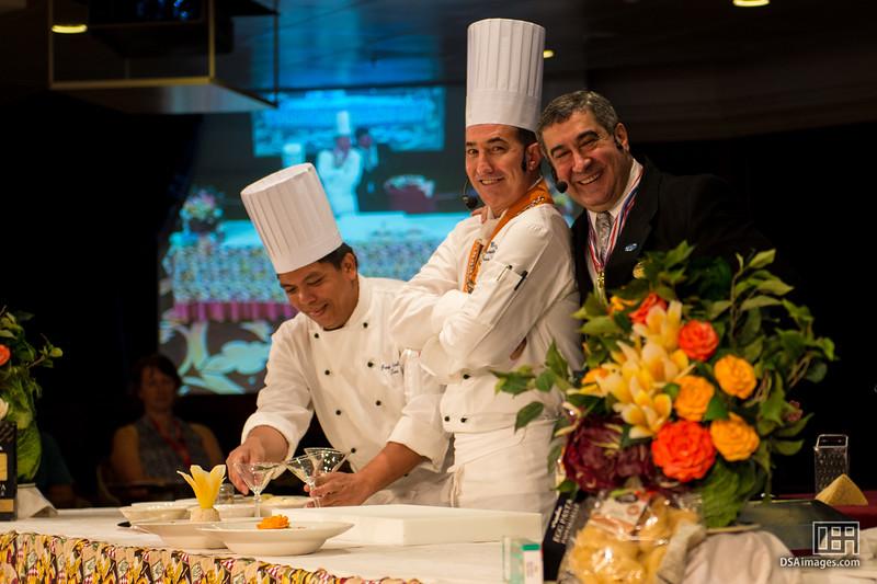 Ottavio Bellesi, Executive Chef, and Carlos Da Rosa, Maitre D'Ho