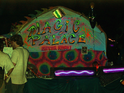 welcome to the magic palace, horning's hideout, aug. 2001