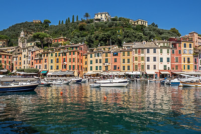 Italy - Coastal Towns of Rapallo, Santa Margherita, Portofino, Genoa