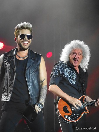 Queen and Adam Lambert Bucharest 2016