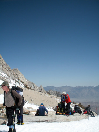 Mt. Whitney Mountaineer's Route - April 16-18, 2010