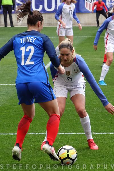 USWNT vs France