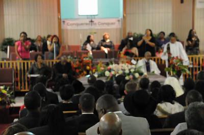 Celebrating Life 'Goin to Church'  Wilma Adams Dec 9, 2012