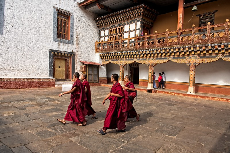 monks walking in the curtyard.jpg