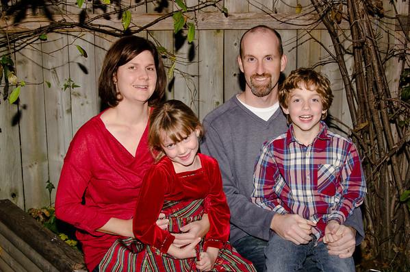 Rainey Family - Winter 2012