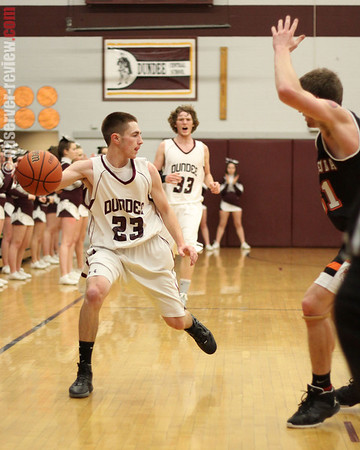 Dundee Sectional Bball 2/24/12