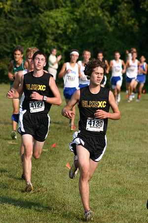 2009 Centerville HS Cross Country (Back in Black)