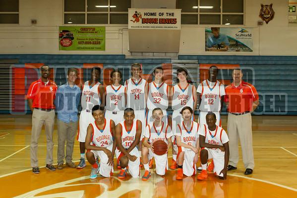 Boone Boys Basketball Team Photos - 2014