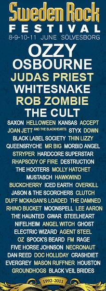 OZ  - Sweden Rock Festival 2011