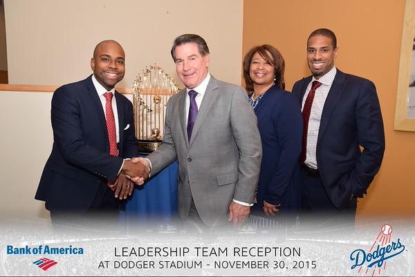 Bank of America Leadership Team Reception 113015