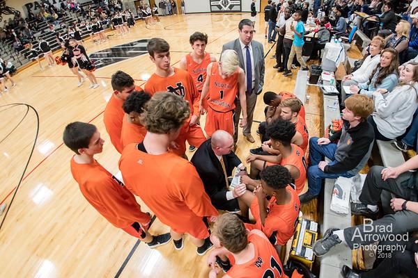 NDHS Basketball vs Ledford 2018