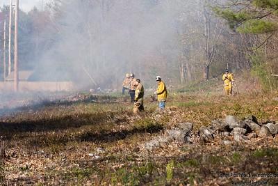 Brush Fire - Chase Rd, Lunenburg, MA - 5/9/2020