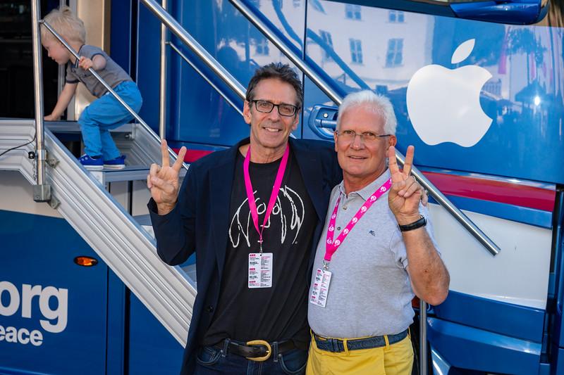 2018_07_07, Apple, Brian Rothschild, Bus, Day 2, Exterior, lennonbus.org, Lichtenstein, Neutrik, Schaan, Schaan Life Festival, Werner Bachmann