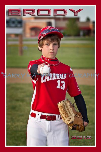 Broughton Team Baseball 2012