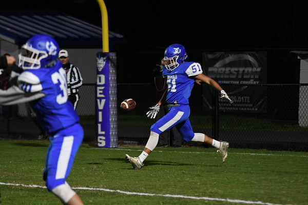 UCHS Football vs Johnson County - October 2020