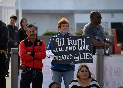 SD 9/11 Truth - MLK Parade 2017