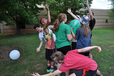 2015-07-22 Drumline Team Building Activites
