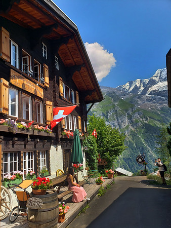 Gimmelwald Switzerland