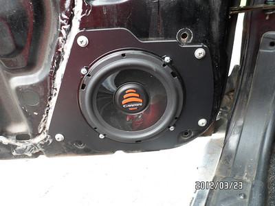 1990 Nissan 240sx Front Door Speaker Installation - USA