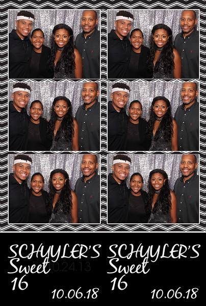 Schuyler's Sweet 16 (10/06/18)