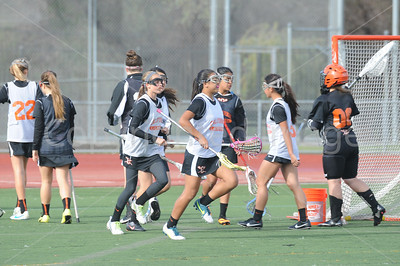 Granada vs California Women's JV Lacrosse - 25 April 2014